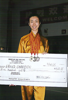Shirley Chock, Greater Hartford International Chinese Martial Arts Tournament Grand Champion