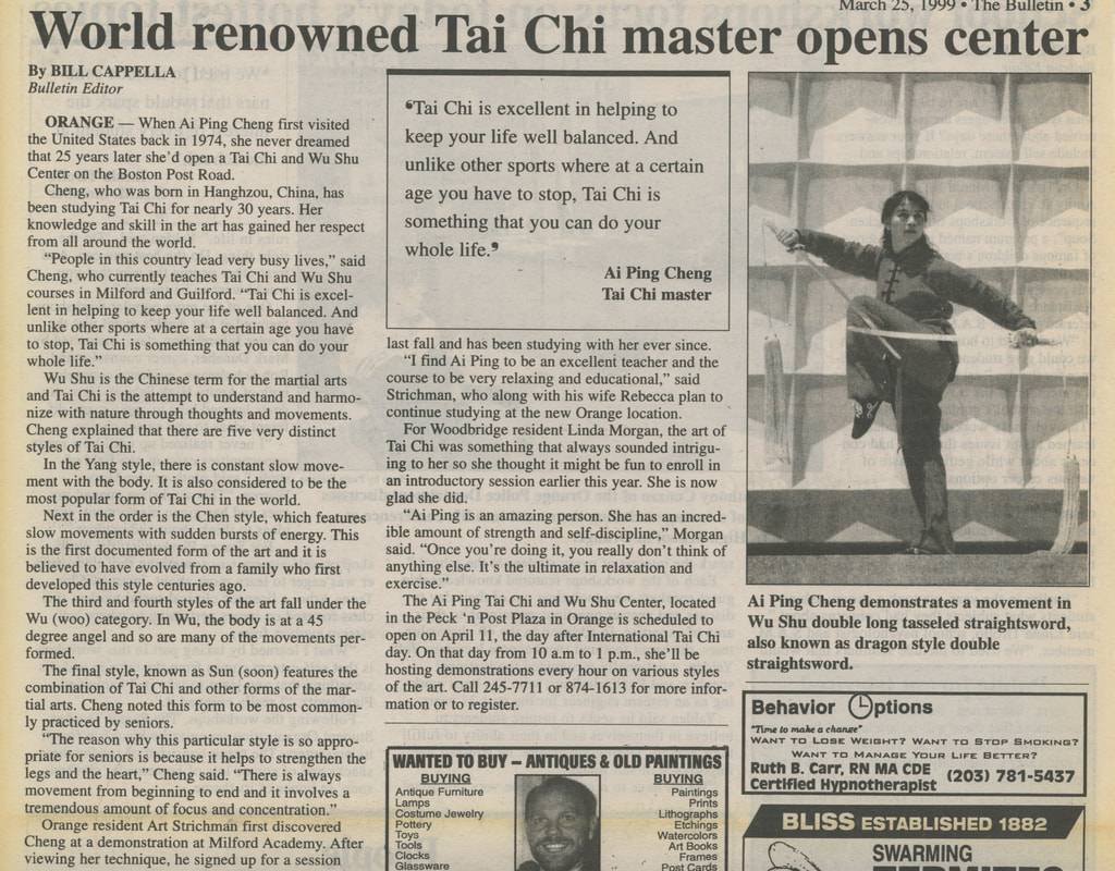 Aiping Tai Chi Center Orange CT