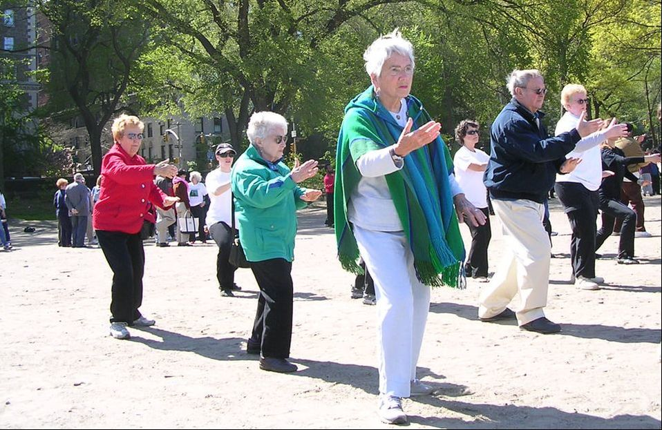 Aiping Tai Chi Center seniors World Tai Chi Day Central Park