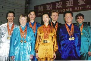aiping tai chi center, orange ct, competition team, shirley chock, bob shannon