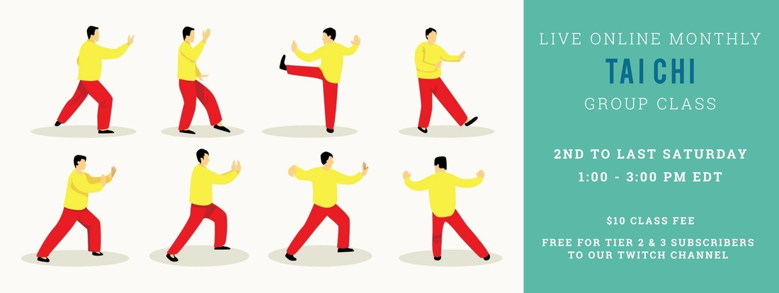 Aiping Tai Chi Monthly Online Class