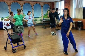 Aiping Tai Chi Center Orange CT, Shirley Chock, community wellness, Chapel Haven New Haven CT