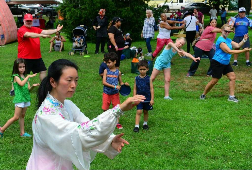 Aiping Tai Chi Center Orange CT, Shirley Chock, community wellness, Family Fitness Day Stratford CT