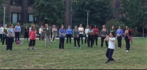 Aiping Tai Chi Center, Shirley Chock, Yale University, Working Women's Network