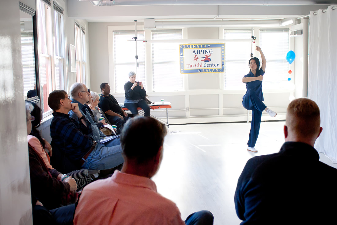 Aiping Tai Chi Center Westport CT grand opening, tai chi, health qigong, shirley chock